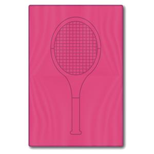 Pink Tennis Racquet Towel