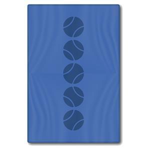 Blue Tennis Balls Towel