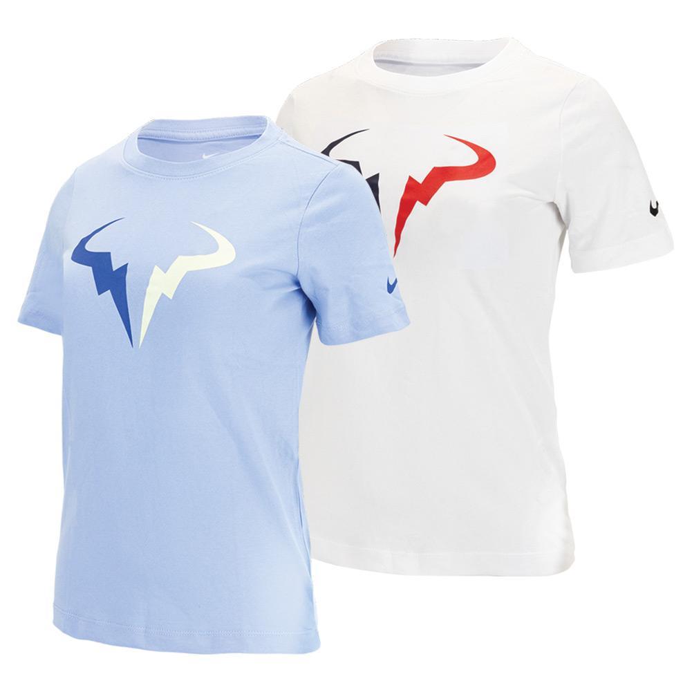 Boys ` Rafa Court Dri- Fit Seasonal Tennis T- Shirt