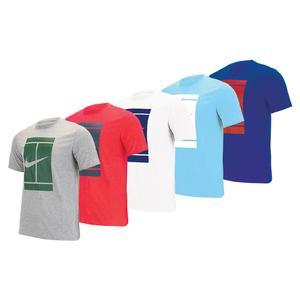 Men`s Court Seasonal Tennis T-Shirt