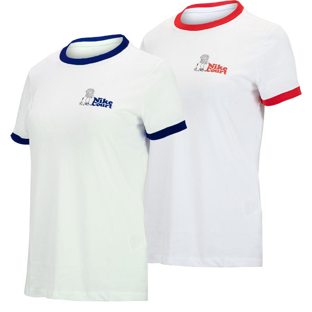 Women's New York City Court Dri- Fit Ringer Tennis T- Shirt