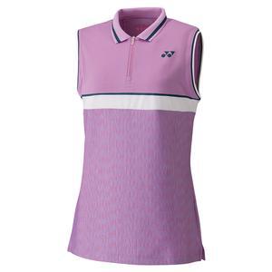 Women`s Tournament Sleeveless Tennis Polo Lavender