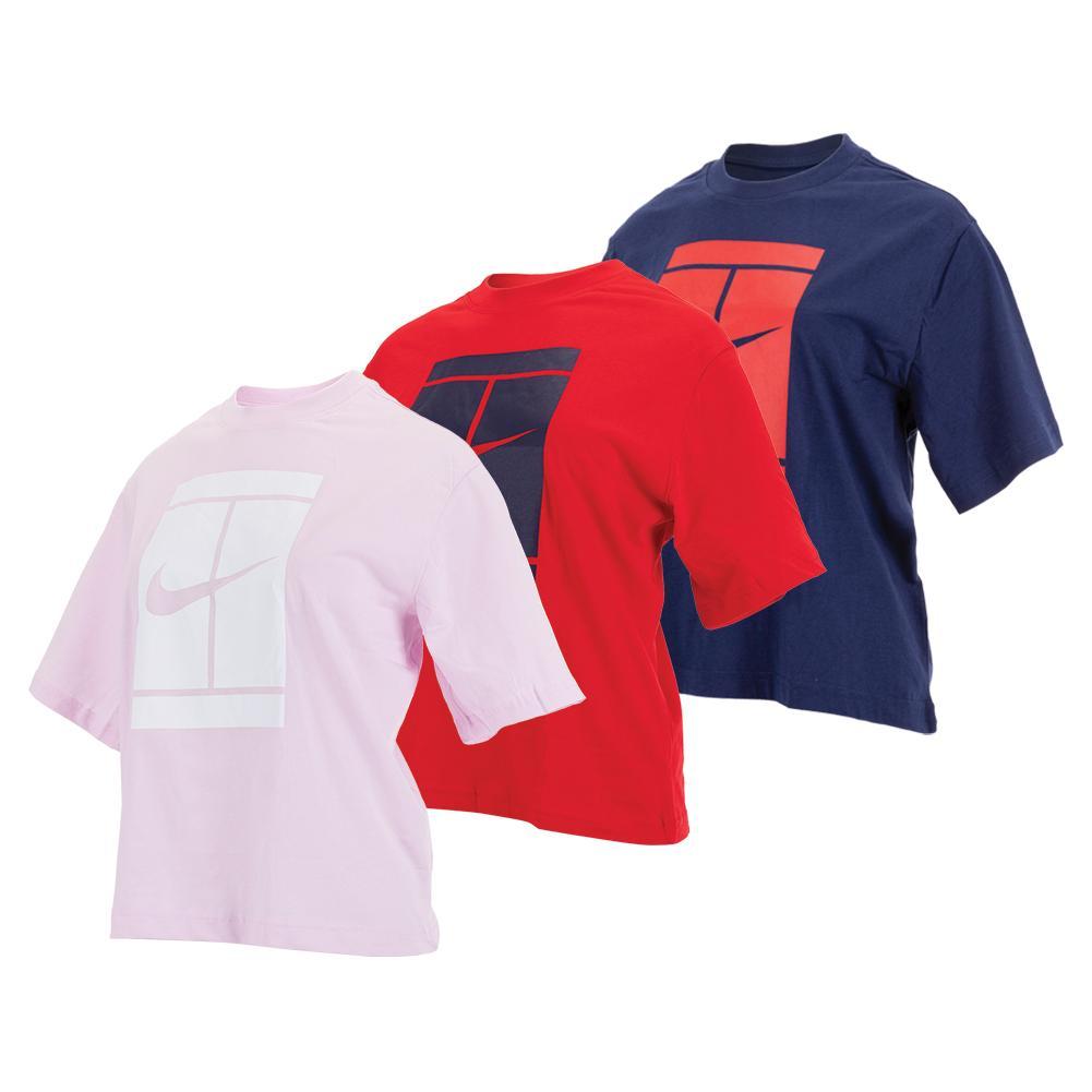 Women's Court Seasonal Tennis T- Shirt