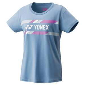 Women`s Practice Tennis T-Shirt Mist Blue