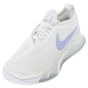 Women`s React Vapor NXT Shoes White and Aluminum