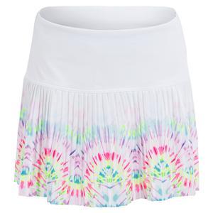 Girls` Peace N Love Pleated Tennis Skort Multicolor