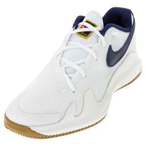Juniors` Vapor Pro Tennis Shoes Summit White and Binary Blue