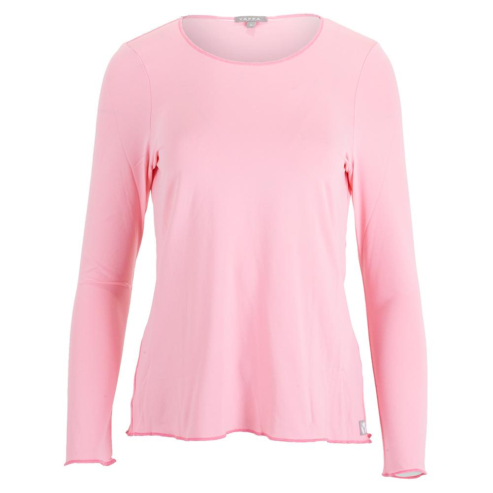 Women's Sun Protector Tennis Top Light Pink
