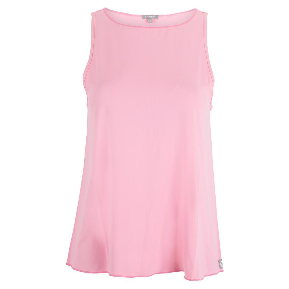 Women's Neck Protector Tennis Tie- Tank Light Pink