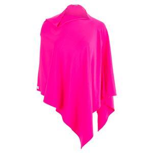 Women`s Sun Poncho Hot Pink