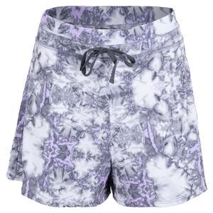 Women`s Court Tennis Short Tie Dye Print