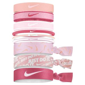Women`s Mixed Hairbands 9 Pack Pink Glaze and Archaeo Pink