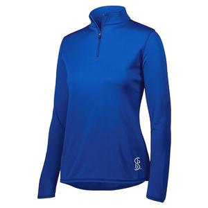 Women`s 1/4 Zip Pickleball Pullover Royal Blue