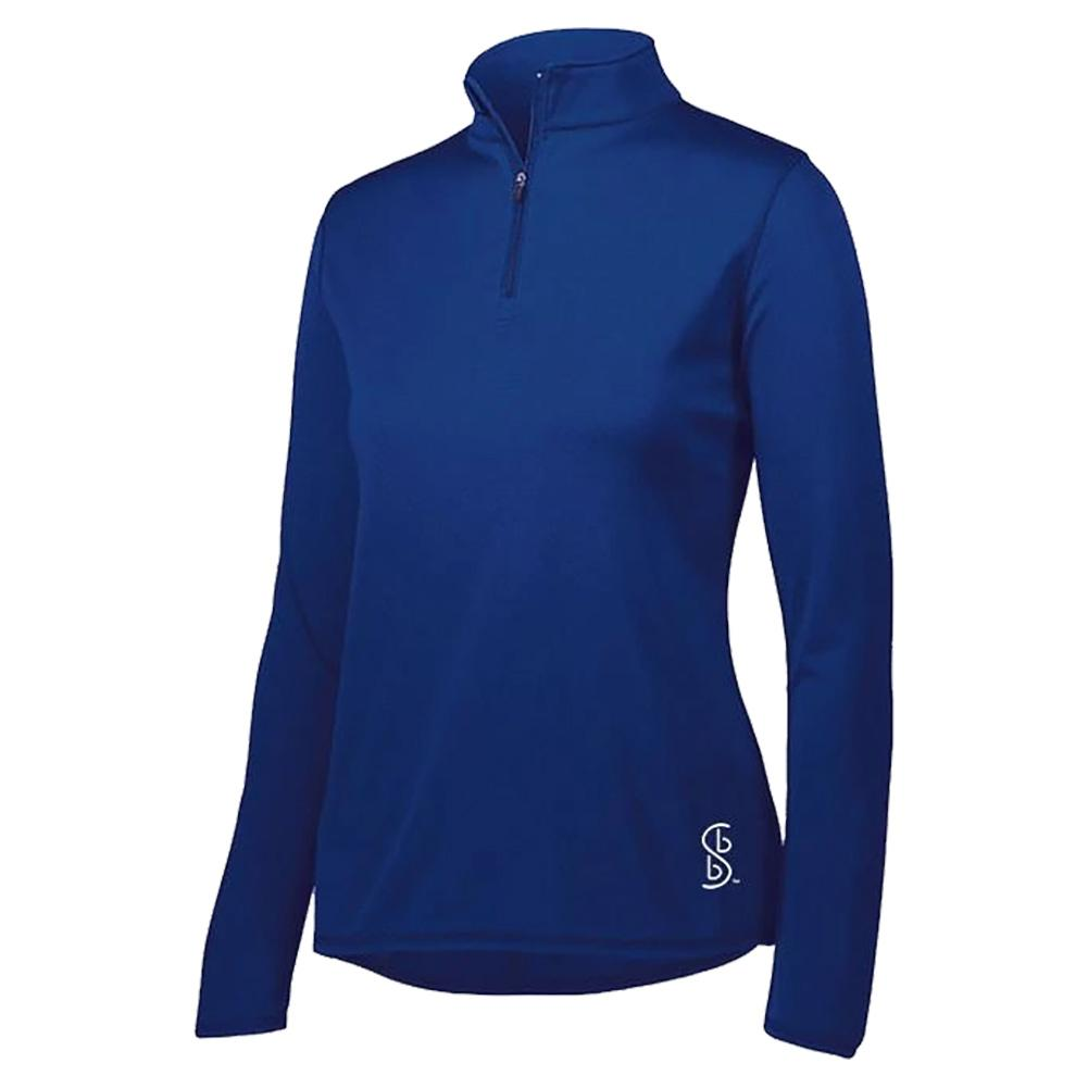 Women's 1/4 Zip Pickleball Pullover Navy Blue