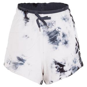 Women`s Dare to be Great Training Short Whisper White and India Ink
