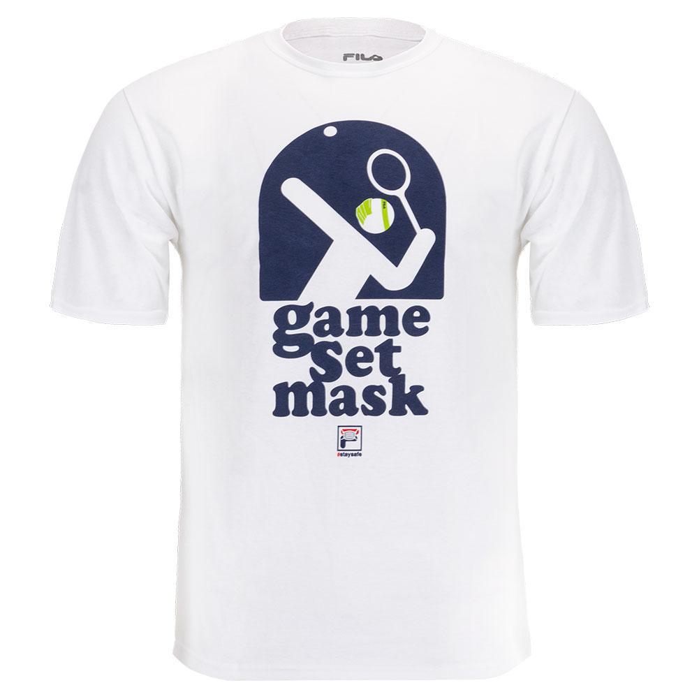 Men's Essentials Game Set Mask Tennis Tee