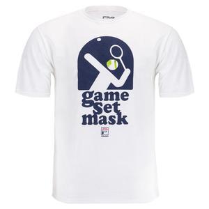 Men`s Essentials Game Set Mask Tennis Tee