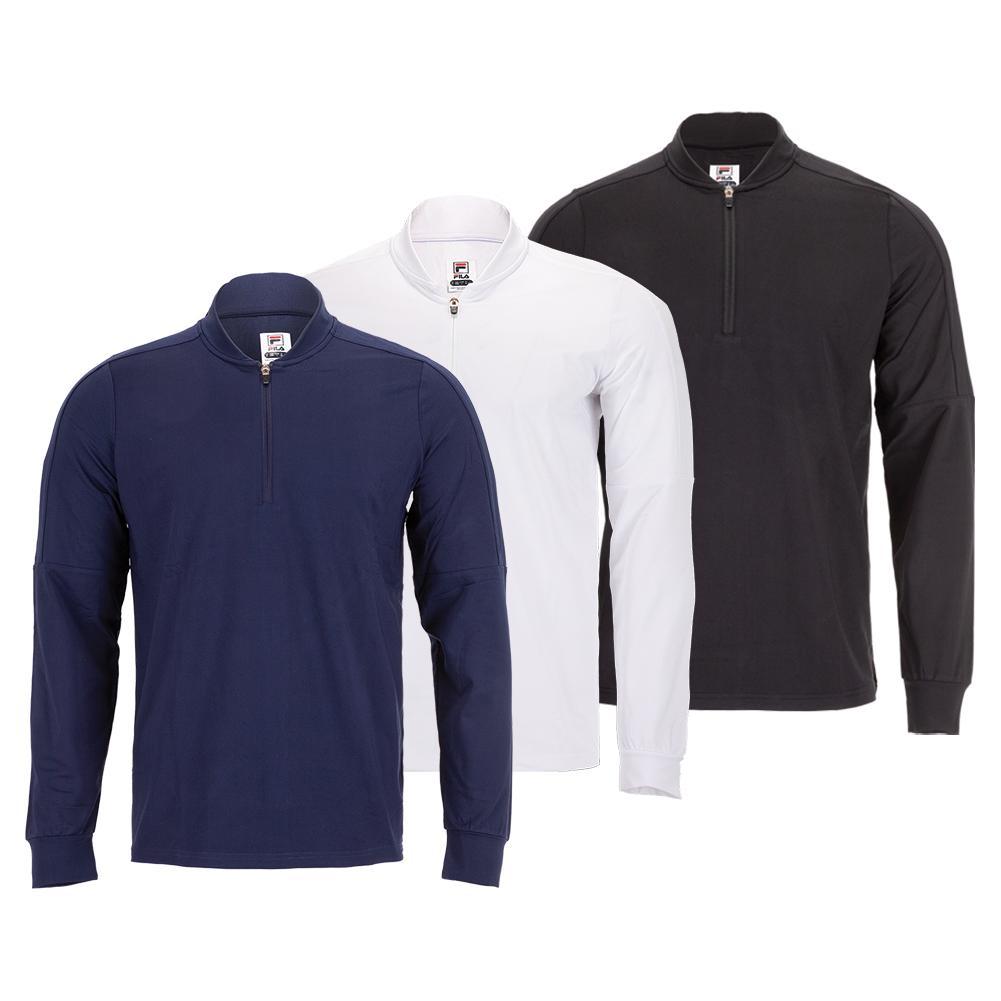 Men's Essentials 1/4 Zip Tennis Pullover