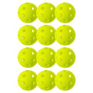 X-26 Indoor Pickleballs 12 Pack Lime Green