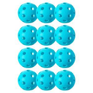 X-26 Indoor Pickleballs 12 Pack Blue