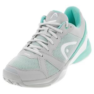 Women`s Revolt Evo Tennis Shoes Grey and Beach Glass