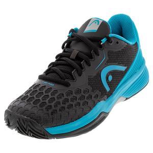 Juniors` Revolt Pro 3.5 Tennis Shoes Raven and Capri