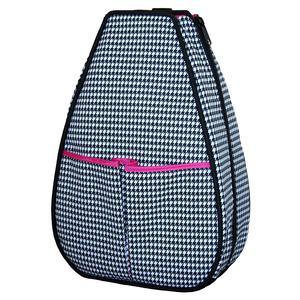 Women`s Sophi Tennis Backpack Houndstooth