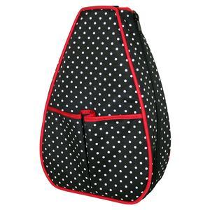Women`s Sophi Tennis Backpack Polka Dot