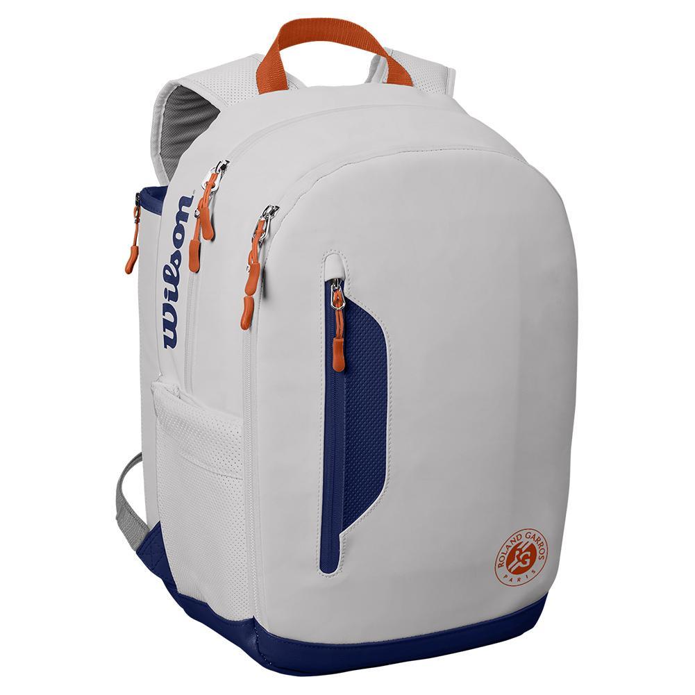 Roland Garros Premium Tour Tennis Backpack White And Navy