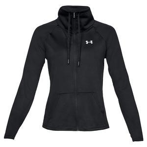 Women`s UA Tech Full Zip Black