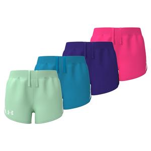 Girls` UA Fly-By Shorts