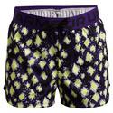 Girls` UA Play Up Printed Shorts 754_PURPLE_ZEST