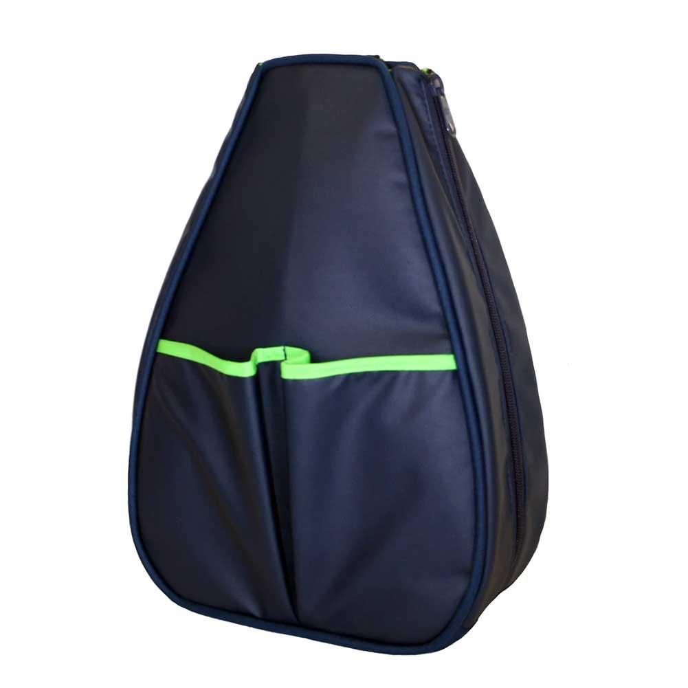 Women's Sophi Tennis Backpack Navy Faux