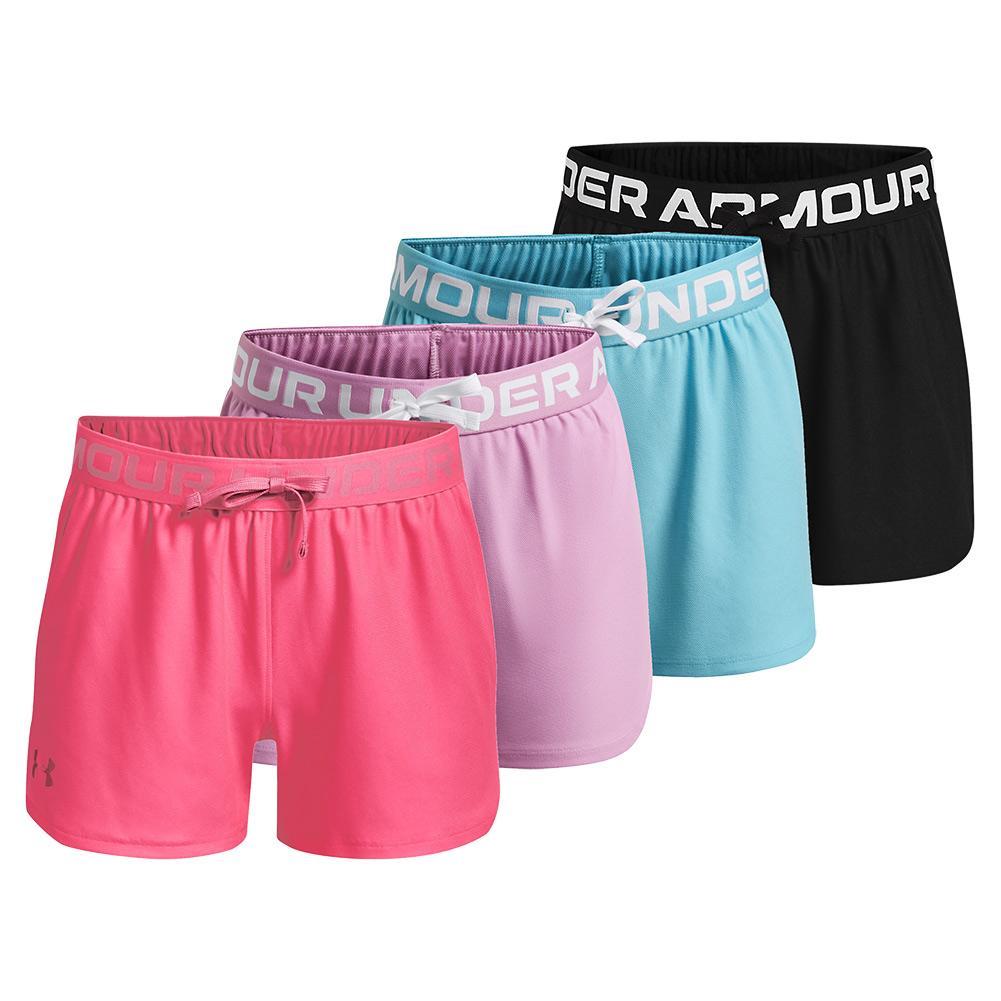 Girls ` Ua Play Up Shorts
