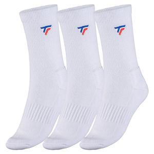 Men`s Tennis Socks 3 Pack White
