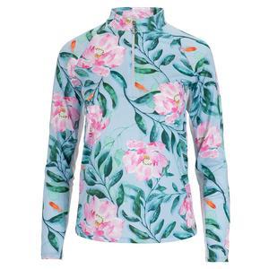 Women`s Sunshine Long Sleeve Tennis Top Lily Pond