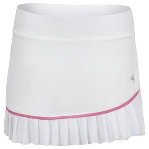 Women`s 13 Inch Tennis Skort Weave and Macrame