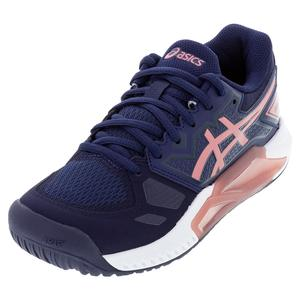 Women`s GEL-Challenger 13 Tennis Shoes Peacoat and Smokey Rose