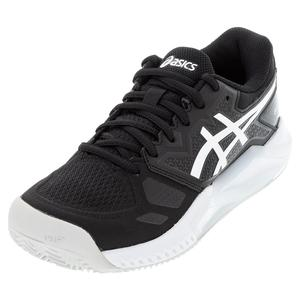 Women`s GEL-Challenger 13 Clay Tennis Shoes Black and White