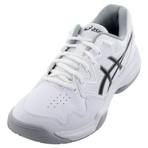 Men`s GEL-Dedicate 7 Tennis Shoes White and Black