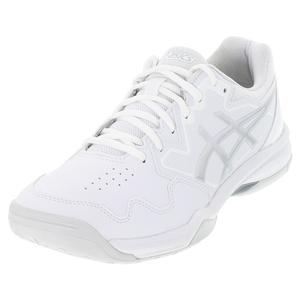 Women`s GEL-Dedicate 7 Tennis Shoes White and Pure Silver