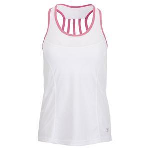 Women`s Racerback Tennis Tank Weave and Macrame