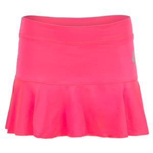 Women`s Basic Tennis Skort Fluor Pink