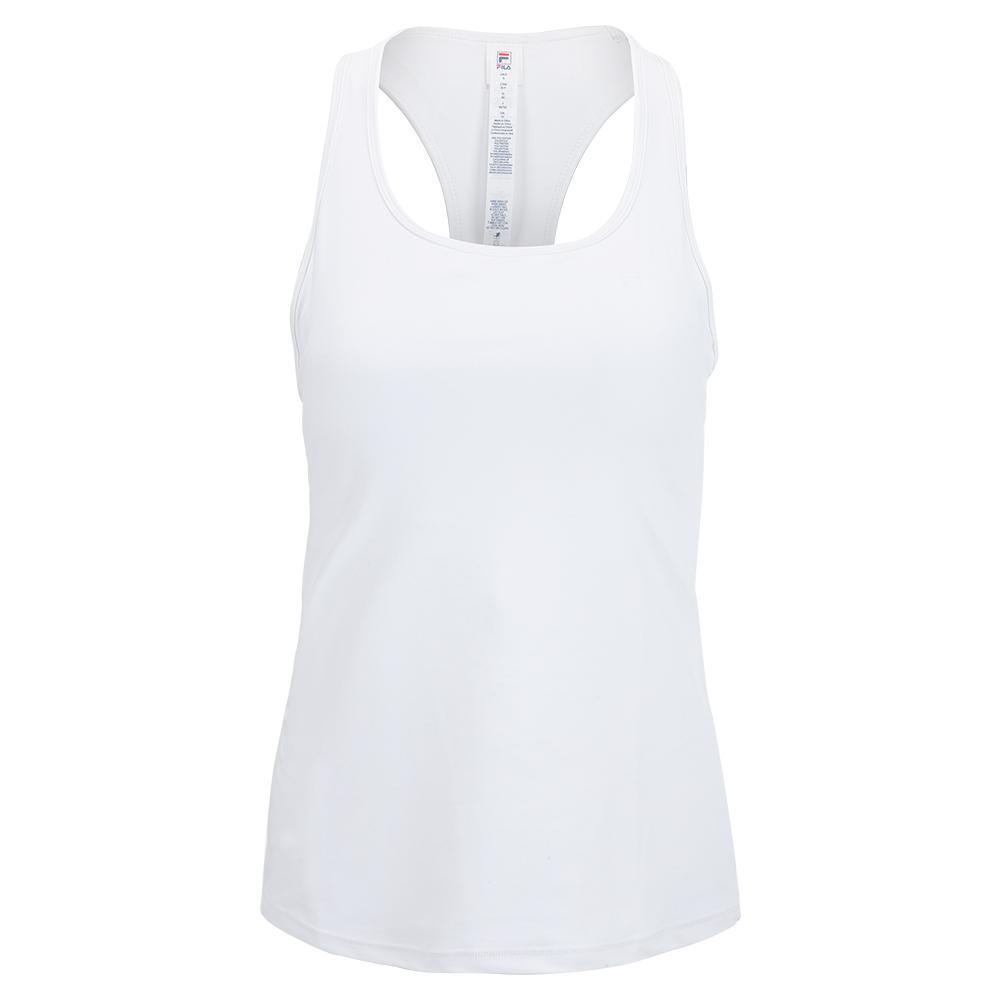Women's Trailblazer Racerback Tennis Tank White
