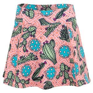 Women`s A-Line Pickleball Skort Cactus 1