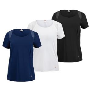 Women`s Essentials Cap Sleeve Tennis Top