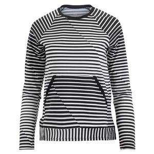 Women`s Donella Long Sleeve Tennis Top Vertigo Stripe