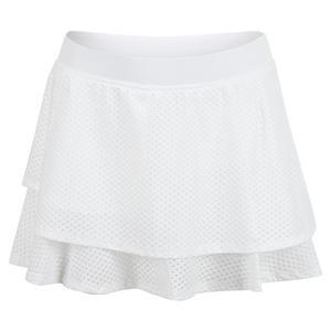 Women`s Layer Tennis Skort White