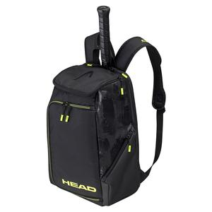 Extreme Nite Tennis Backpack Black and Neon Yellow