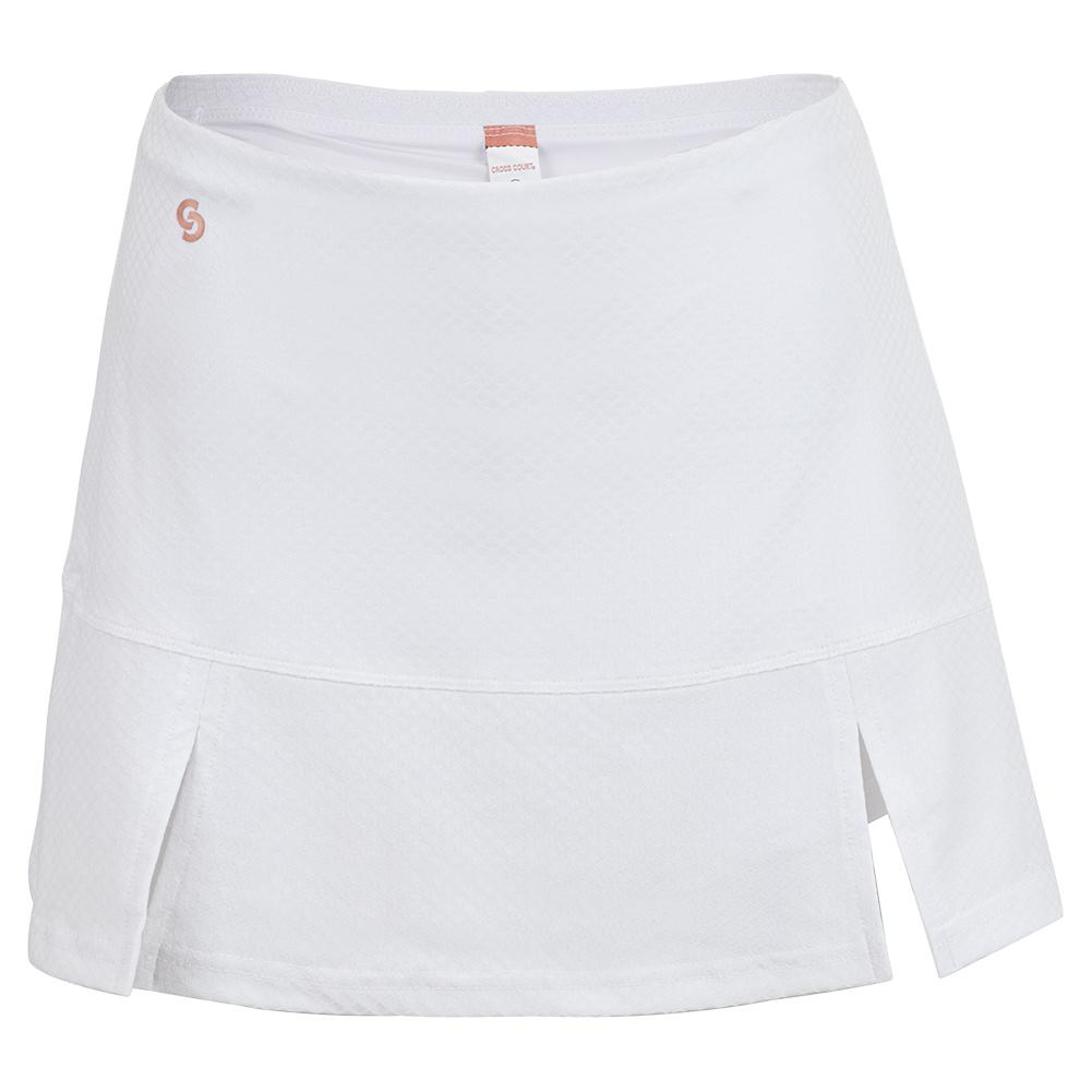 Women's Club Whites Tennis Skort White